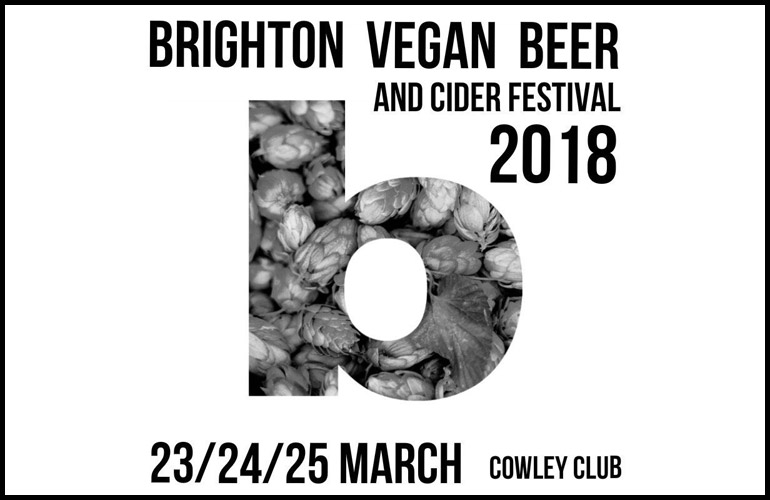 Brighton Vegan Beer and Cider Festival 2018