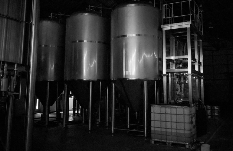 Lost and Grounded Brewers brewhouse equipment